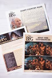 the bfg printable bookmarks coloring u0026 activity pages u2014 all for