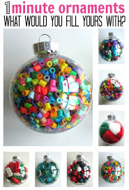 ornament crafts clear plastic ornaments ornament and
