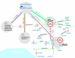 Metrolink Los Angeles Map by Commuter Express Routes City Of Santa Clarita Transit