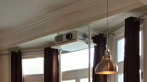 hack an ikea stolman shelf into a sturdy projector ceiling mount