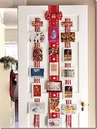 ribbon display christmas card door ribbon display h simplified bee