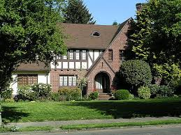 tudor bungalow tudor style ne portland irvington neighborhood tudor re flickr
