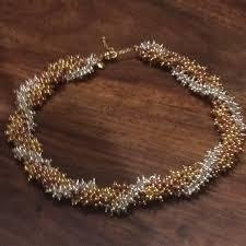 multi bead necklace images J crew twisty multi bead necklace poshmark jpg