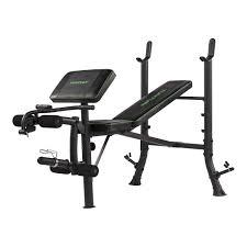 Gym Bench Size Wb40 Weight Bench Tunturi New Fitness