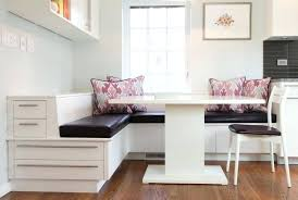 dining room set with storage bench plans diy corner table