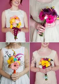 diy bouquet diy how i made my own wedding bouquet a beautiful mess