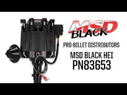msd 8365 gm hei billet distributor msd performance products