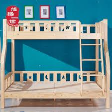chambre lit superposé pas cher en bois enfants mobilier de chambre lit superposé avec