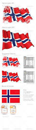 Norweigan Flag Norway Flag Grunge By Gnazlis Graphicriver