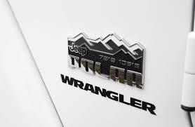 jeep wrangler logo decal suv review 2014 jeep wrangler polar edition driving