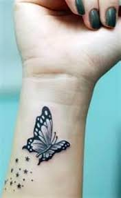 butterfly wrist designs for