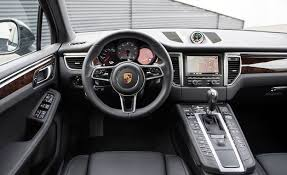 interior porsche macan 2015 porsche macan s test review car and driver