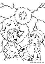 digimon coloring pages coloring book