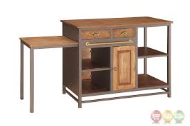 kitchen island pull out table kitchen island with pull out table metal and wood drawer kitchen