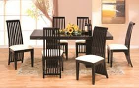 Pcs Modern Italian Marble W Black Lacquer Dining Room Set ZBMRECT - Black lacquer dining room set