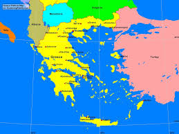 greece map political greece political map a learning family