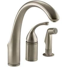 Kohler Kitchen Sink Faucet Kohler K 10430 Forte 3 Remote Valve Kitchen Sink Faucet With
