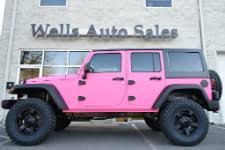 jeep lifted pink testimonials at wells auto sales warrenton va 703 623 1396