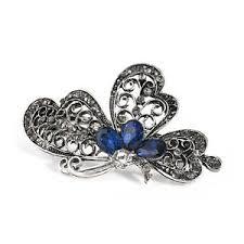 luxury hair accessories butterfly fashion hair clip luxury hair accessories women trendy
