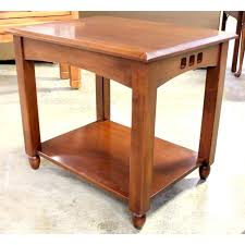 mission style end tables end tables mission style coffee and end tables round table shaker
