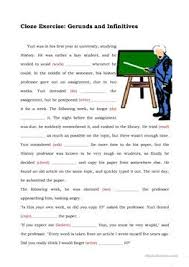 35 free esl gerunds and infinitives worksheets for advanced c1 level