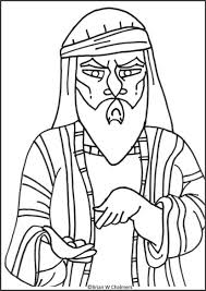 Coloring Zacchaeus Coloring Page Zacchaeus Coloring Page