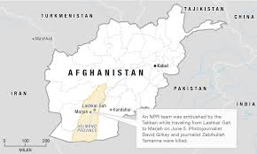 Kabul Map Afghanistan A Tragic Return To A War With No End Parallels Npr