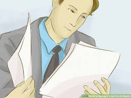 Blind Trust California How To Set Up A Trust For An Estate 14 Steps With Pictures