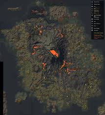 Eso Maps Eso Morrowind Map Of Vvardenfell With Confirmed Locations Labeled