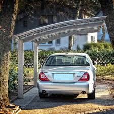 Ebay Carport Einzel Carport Aluminium Unterstand Bogendach Anlehncarport