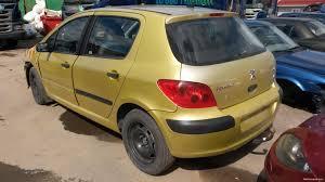 peugeot yellow nettivaraosa peugeot 307 2001 1 6 car spare parts nettivaraosa