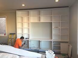 casey u0027s family room built in reveal diy playbook
