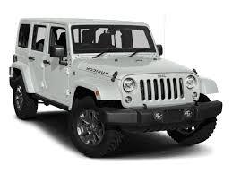 fiat jeep wrangler new 2018 jeep wrangler jk rubicon 4x4 w 2 factory lift sport