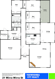 Cul De Sac Floor Plans 21 Wirra Wirra Street Mount Lofty Qld