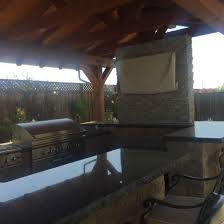 Covered Outdoor Kitchen Designs by Covered Outdoor Kitchen Nor Cal Landscape Design