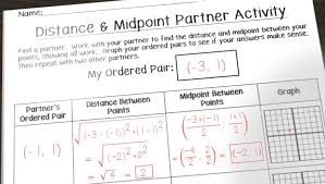 having fun with distance and midpoint math in the middle