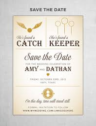 save the dates harry potter save the date diy printable