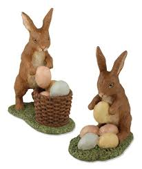 vintage rabbit easter decorations by bethany lowe