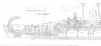 ship floor plans uss newport news ca 148 naval research ship u0027s plans