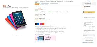 get amazon fire tablet at black friday price deal save on amazon u0027s kindle e readers fire hd 8 tablet and dash