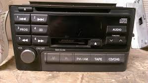 nissan maxima oem parts 2001 01 nissan maxima bose cd cassette radio receiver oem pn 2383d
