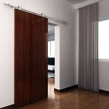 Indoor Sliding Barn Doors by Interior Rustic Textured Wood Sliding Barn Door Decor Interior