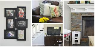 rustic glam home decor our u201crustic glam farmhouse u201d living room u2013 our diy house the diy