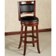 Swivel Bar Stool With Arms Furniture Dark Wood Swivel Bar Stools With Backs On Cozy Berber