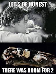 Titanic Funny Memes - titanic meme lets be honest