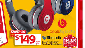 black friday ads walmart 2014 black friday 2014 deal 149 beats by dr dre wireless headphones