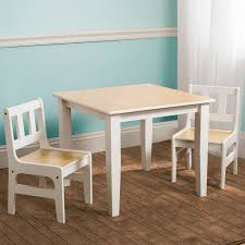 Toddler Table And Chairs Wood New Delta Children Natural Kids Wooden Table U0026 Chairs Set For