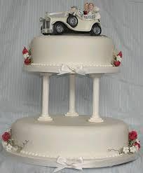 car wedding cake toppers wedding car cake sugar cake topper