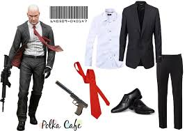 Hitman Halloween Costume Easy Cosplay Ideas