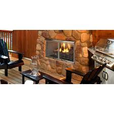 majestic odvillag 42 villa gas 42 outdoor gas fireplace